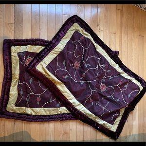Set of 2 Decorative Pillow Sham Covers